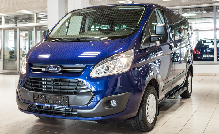 Новый Ford Tourneo Custom