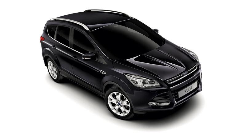 форд куга черный фото